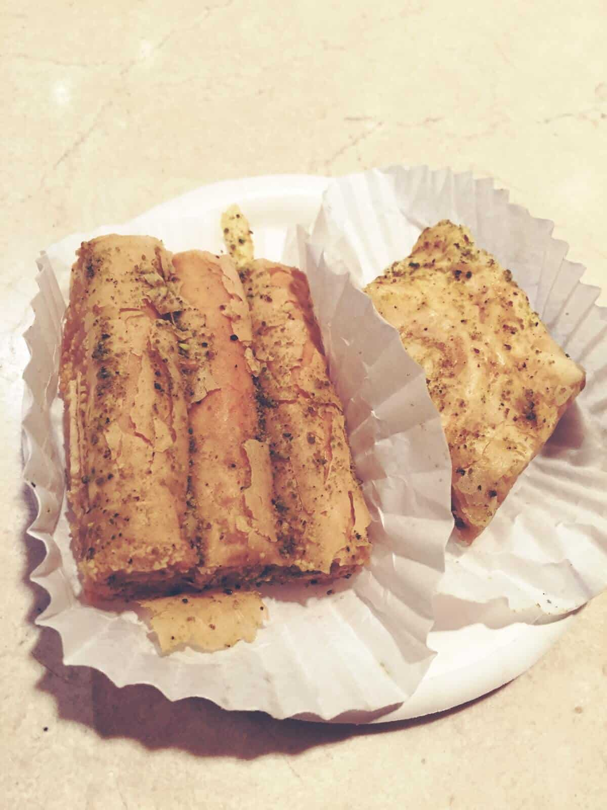 Baklava from Tangierine Cafe