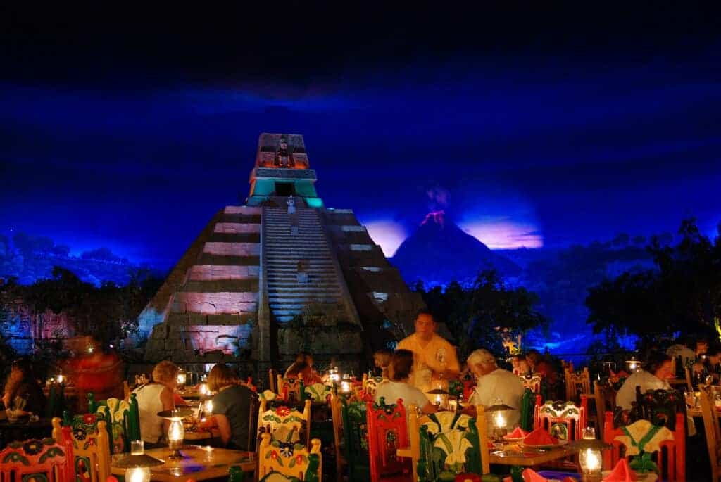 Epcot Mexico Restaurant View