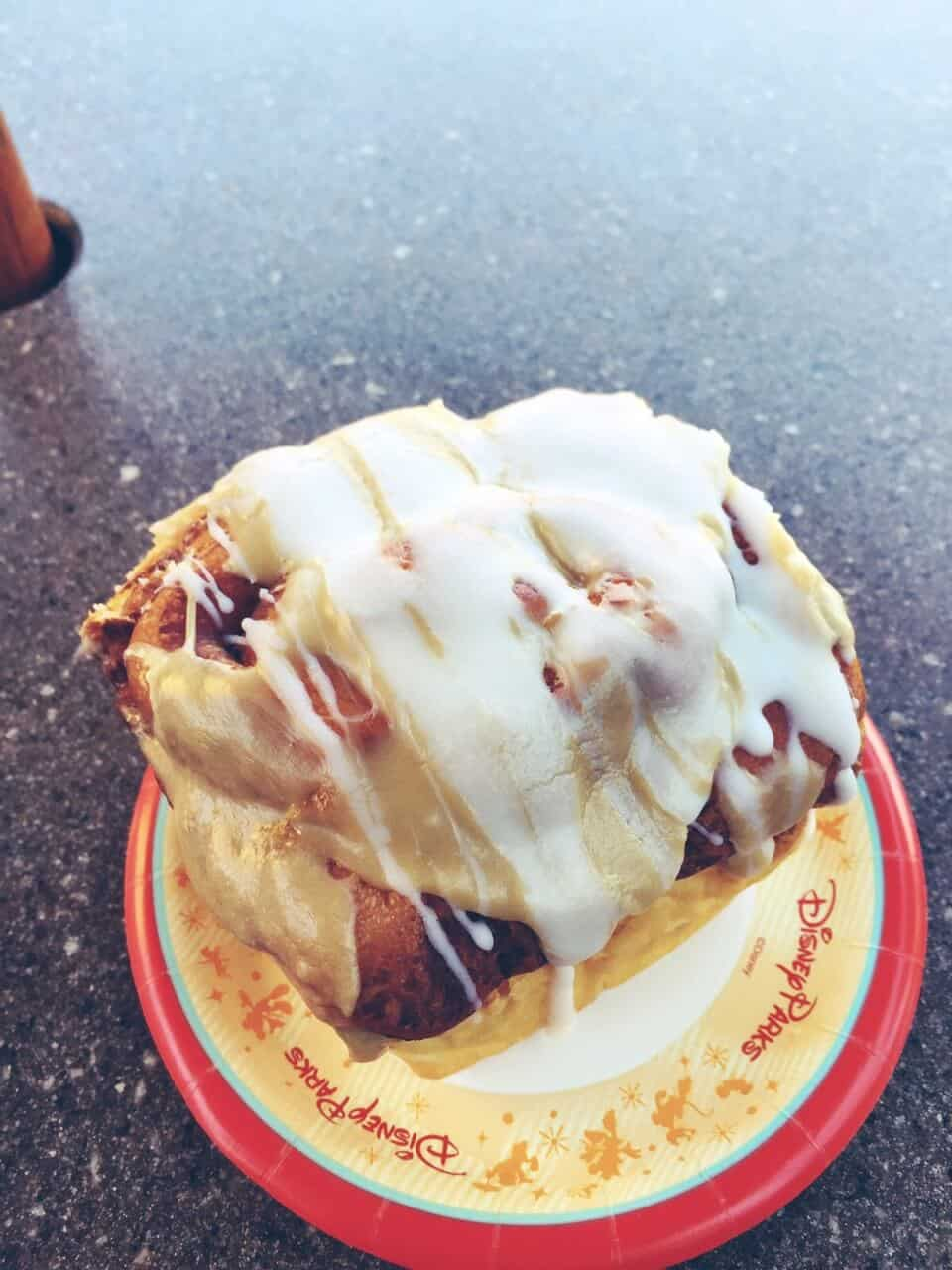 Warm Cinnamon Roll from Gaston's Tavern