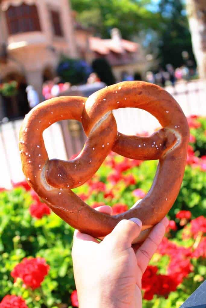 German Pretzel Epcot