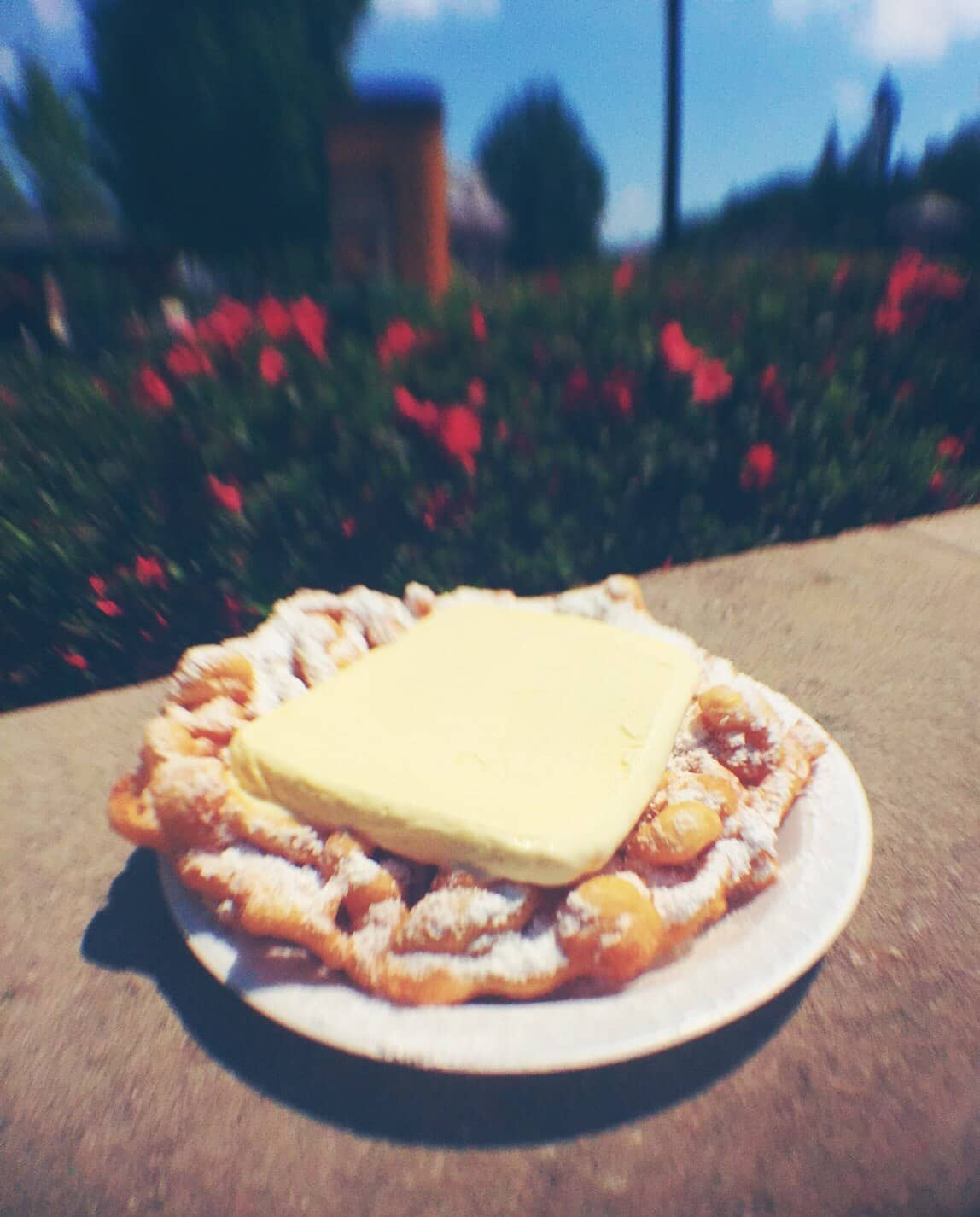 Cookie And Cream Funnel Cake Walt Disney