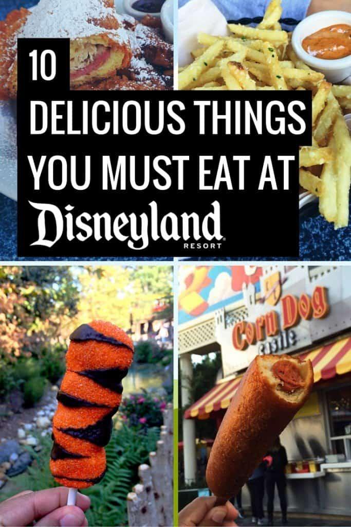 Must Eat Food At California Adventure