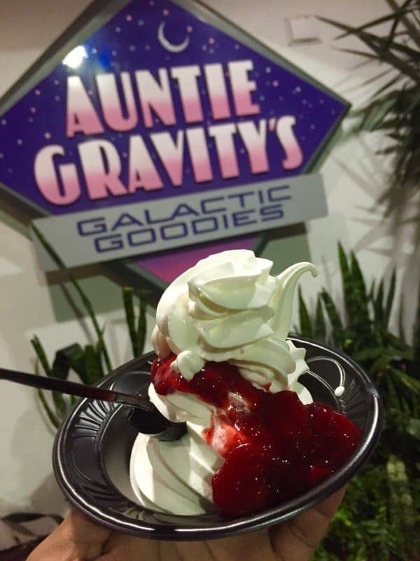 Strawberry Sundae from Auntie Gravity's Galactic Goodies