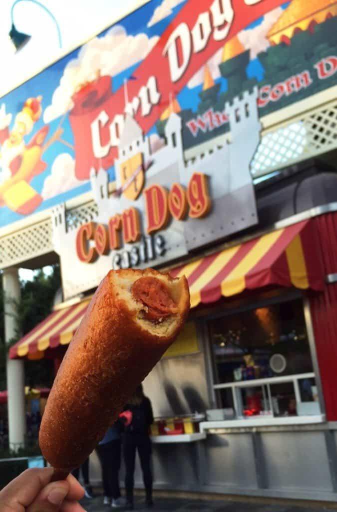 Hot Link Corn Dog from Corn Dog Castle