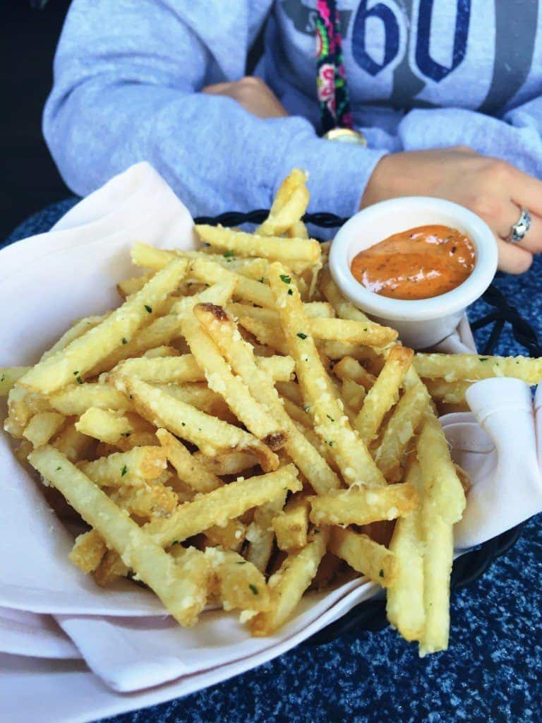 Pomme Frites from Cafe Orleans