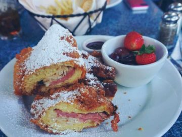 Monte Cristo Sandwich from Cafe Orleans