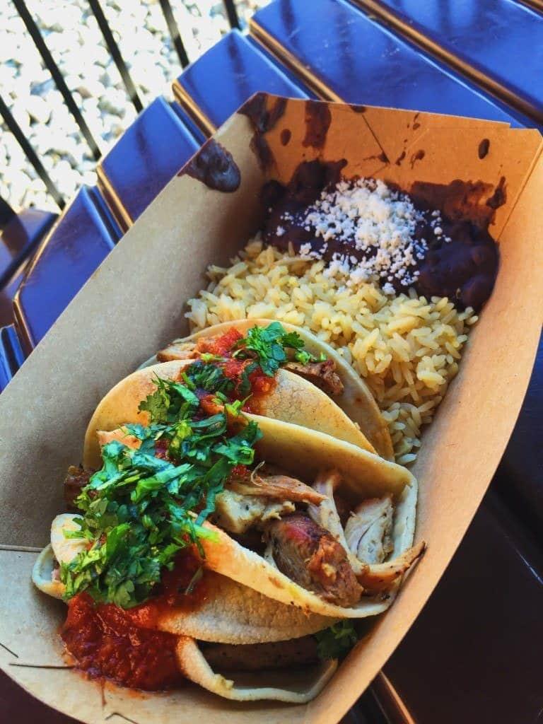Tacos de Pollo Mexico Epcot