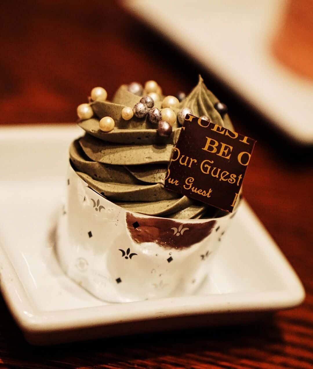 Master's Cupcake Be Our Guest