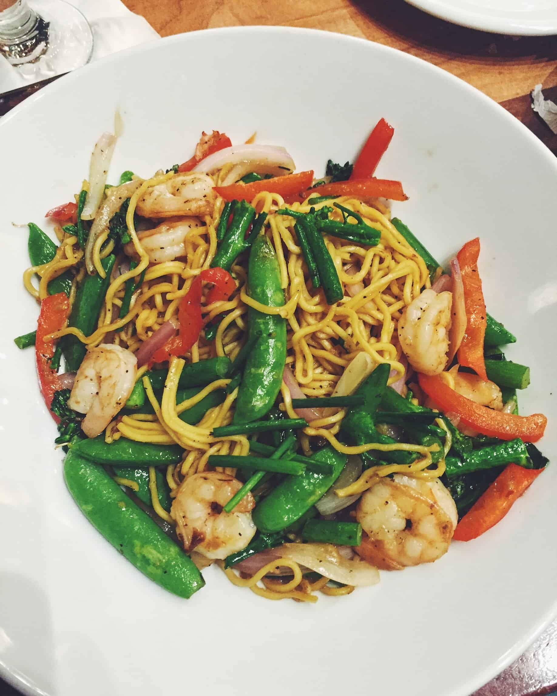 Pan Asian Noodles from Kona Cafe