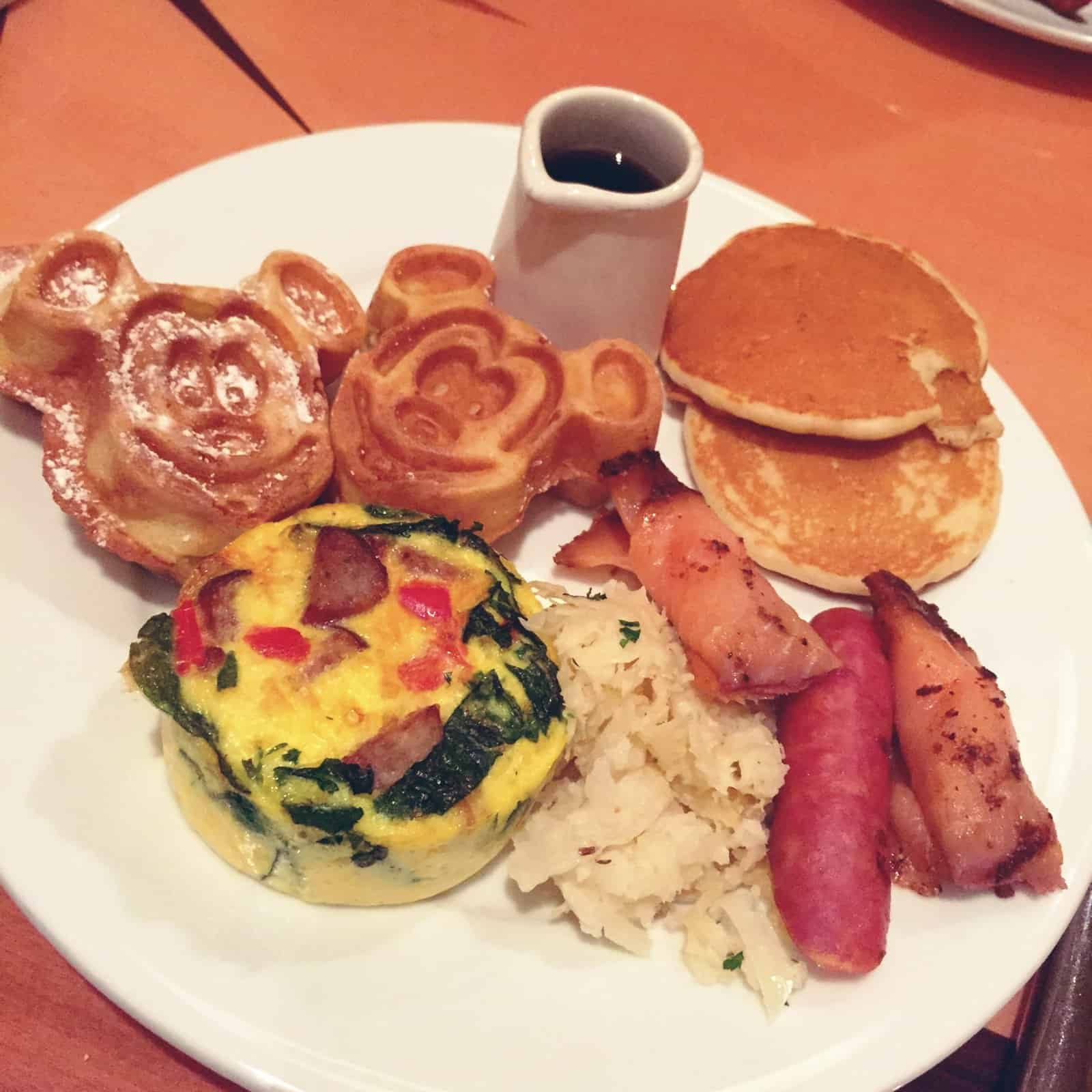 disney springs- diet food