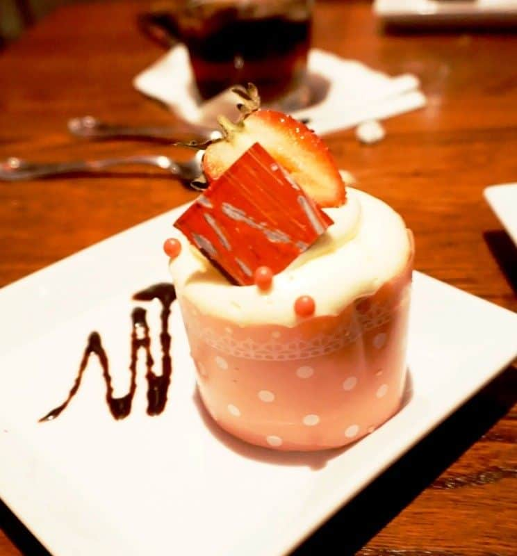 Strawberry Cream Cheese Cupcake Be Our Guest