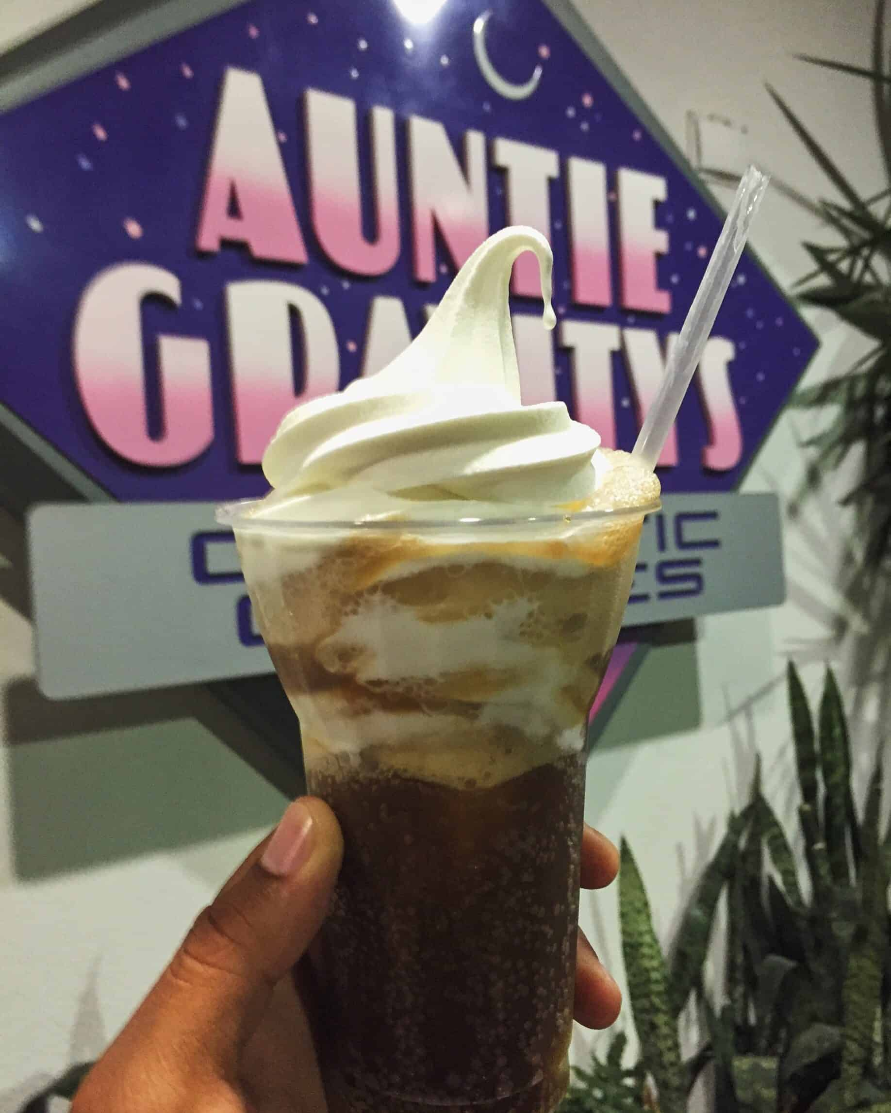 Auntie Gravity's Root Beer Float
