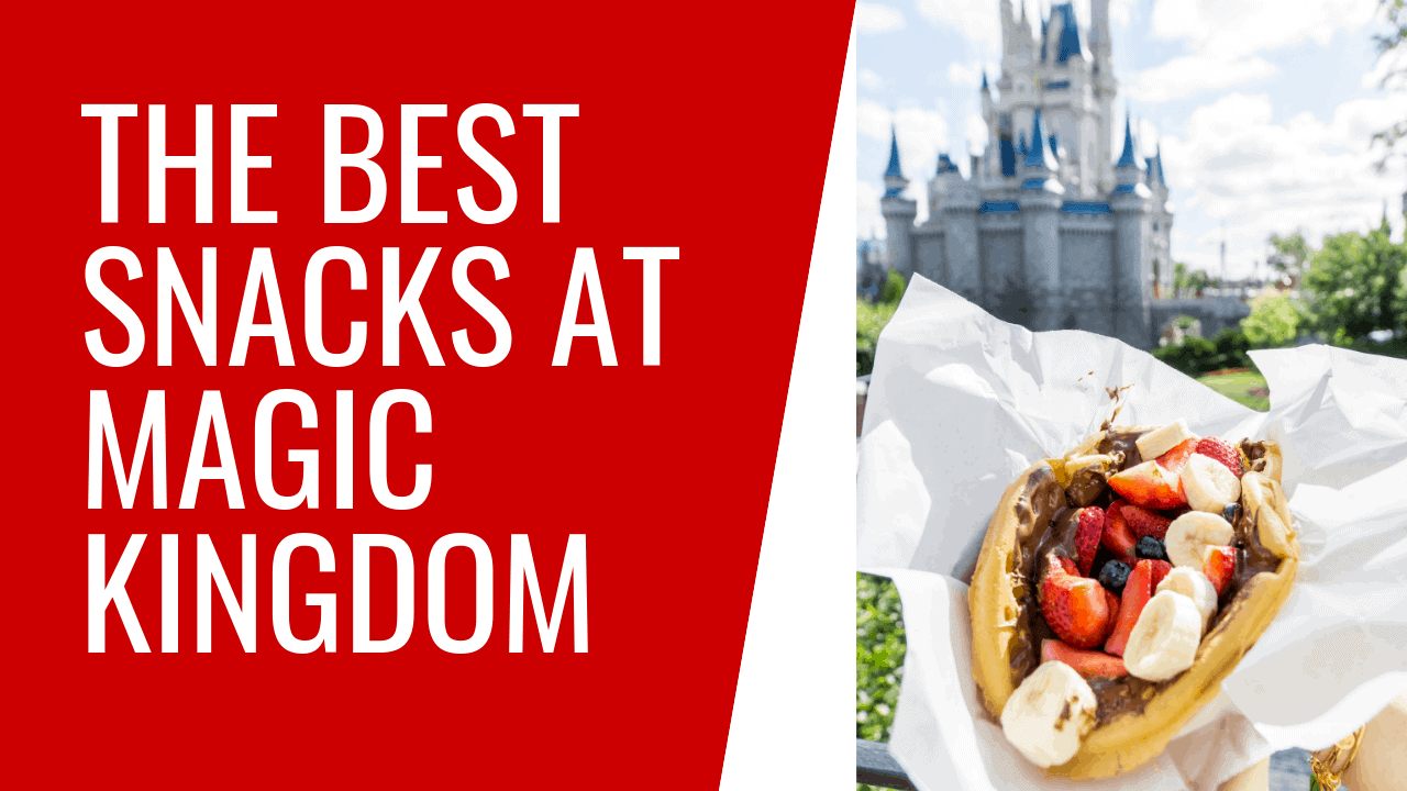 Best Snacks at Magic Kingdom