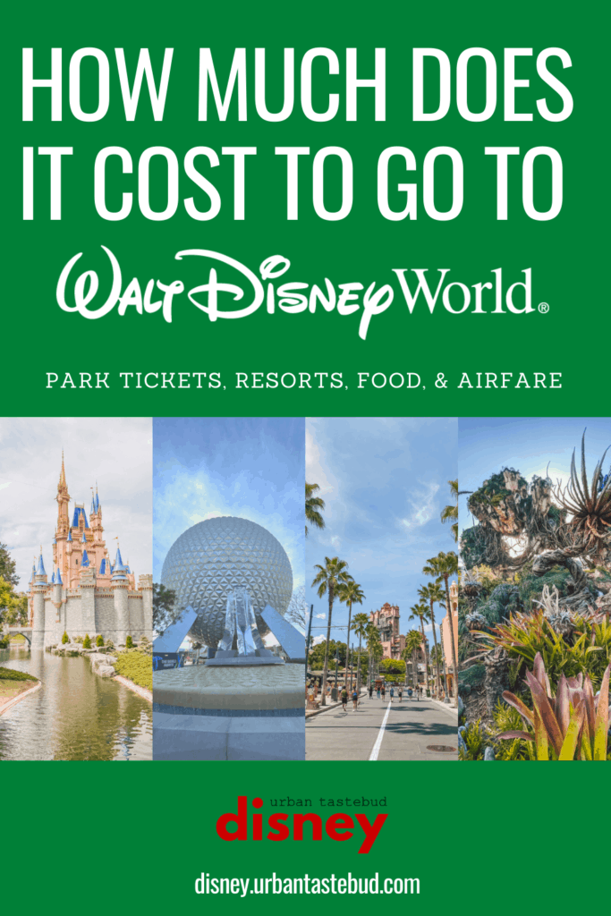 How much does it cost to go to Disney World for a family of four?