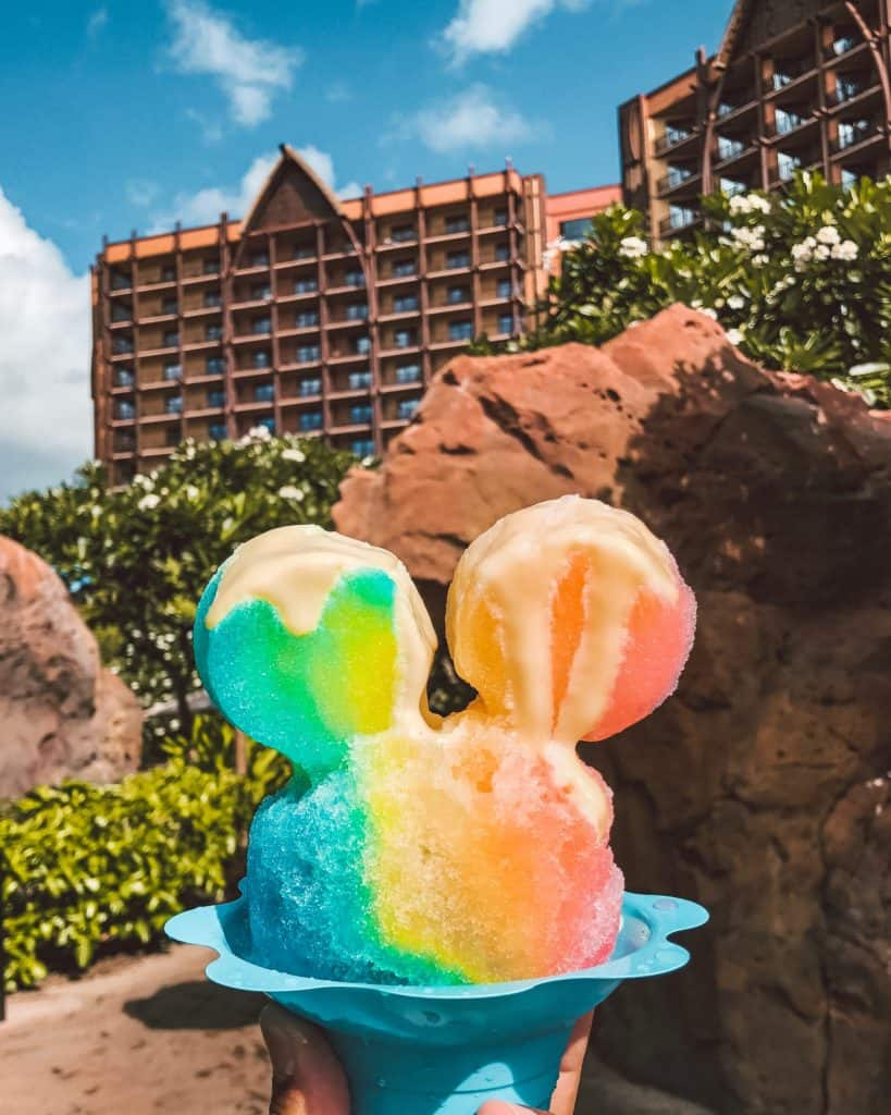 Mickey Shaved Ice